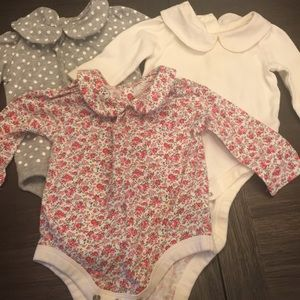 Baby gap Peter-pan collar onesies